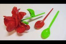 τριαντάφυλλα  με κουταλακια