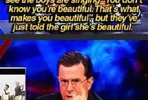 Colbert being awesome