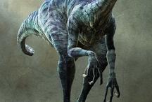 T-Rex,Raptors and Dino's