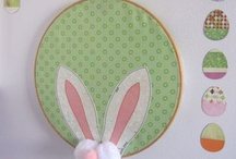 Hoppin' In with Ideas for Easter / I don't even decorate for Easter, but some of these crafts make me want to start...