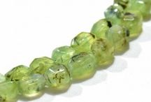 Phrenite Natural Gemstone Beads / Get the best Phrenite gemstone beads from African Mines. Available in clear faceted tumble shape beads. A bead measures from 9mm-11mm to 12mm-20mm. These beads are unbleached, real, untreated & beautiful which allure you.