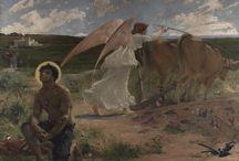 Saint Isidore le Laboureur et ste Marie son épouse