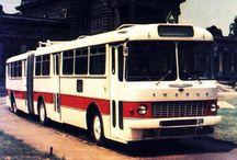 X European City Buses (2) / European Oldtime Articulated City Duty Buses,Busâo,Lagarta.