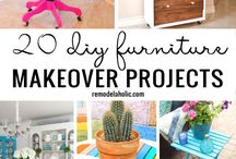 Furniture makeovers / Great furniture remodels, makeovers, before and afters