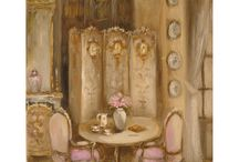 French Room Drawings & Paintings