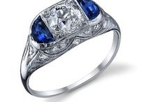 Antique Jewelry and Diamond Engagement Rings / We have a great selection of beautiful, antique and diamond engagement rings.
