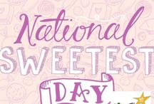 Sweet Day is October 15th / These are some great gift ideas for the annual Sweetest Day on October 15. We've hand picked our favorite products that are sure to make your loved ones smile.