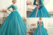 beautiful costumes and ball gowns