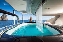 Indoor and outdoor pools