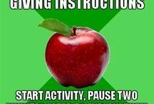 Teacher be like...