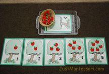 MONTESSORI: M A T H / Montessori inspired math activities & printables.