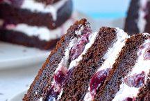 Dulce tortas y cupcake