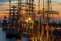 Barche, navi,  aerei, tram, treni e auto d'epoca