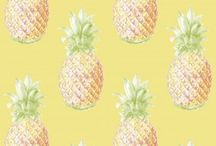 Pineapples / A collection of our pineapple wallpapers