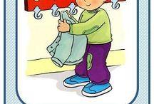 school... / Νηπιαγωγείο- κανόνες τάξης- γωνιές..