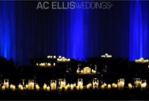 Ideal Draping and Uplighting / Draping Provided by Ideal Wedding and Events