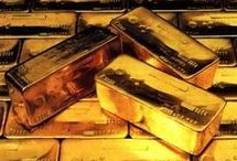 Gold / Pictures of gold or gold products / by Obiwan Kenobi