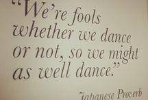 Frases de danza / Dancing quotes