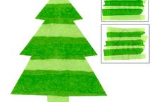 Christmas Art and Craft for Kids / School room ideas for christmas craft.