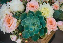 modern wedding flowers arrangements