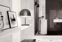 Modern Classic Bathroom / Classic Looking Tiles with a Modern Twist