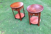 Handmade End Tables
