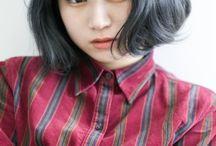 ネイビー ヘアカラー≪navy/haircolor≫