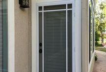 New swinging screen door | Calabasas, CA