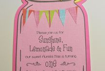 Theme Party: Pink Lemonade