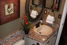Downstairs bathroom needs a change! / by Dianne Yantz Everette