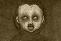 Creepy living dead dolls