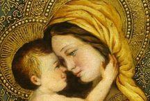 Mary+child