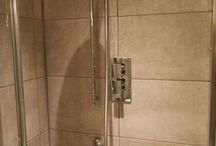 Tilled showers
