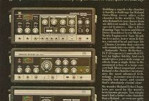 Vintage Synth Prints