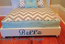 Homemade dog beds
