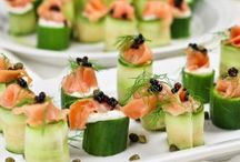 Cucumber salmon  / Salmon and cucumber dishes