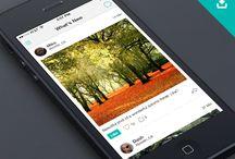 Social feed UI / Design