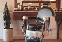 Barber interior