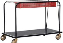 Wheeled Side Tables