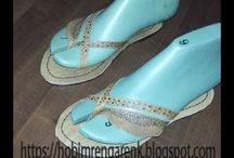 Kösele Sandalet