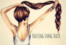 Women's Long Hair / beautiful long locks
