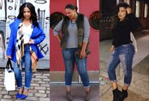 FTF + The Boyfriend Jean / We scoured the blogosphere to bring you genius ideas for how to style the plus size boyfriend jean