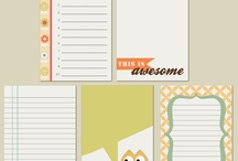 Printables (Journaling Cards & More!)
