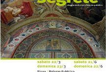 Fresken im Palazzo Pubblico Siena / Materialsammlung