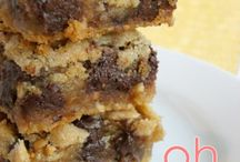 Chocolate peanut butter squares / Chocolate glory