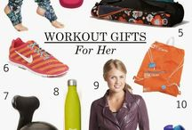 Fitness Gifts / Great ideas to gift your special someone with! Keep them fit & healthy!