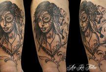 CHICANO TATTOO / Raccolta di tattoo by Art Ka Tattoo - Via Vigone 45/B Pinerolo (TO)
