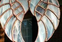 sklo, mozaika, tiffani