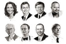 Corporate Portraits | Watercolor / Corporate Portraits | Watercolor