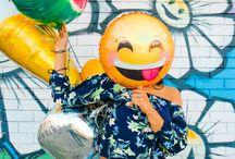 Balloon inspiration and ideas / Balloons, inspiration and ideas for parties and events   #balloons #helium #foilballoons #rosegold #balloonarches